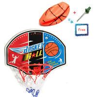 1X Kid Mini Indoor Basketball Hoop Set Over Door the Basket Ball Backboard Game