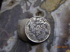 Eire Irish 5P Bull Hand Engraved Scroll Work No Date