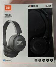 JBL T450bt Wireless Bluetooth On-ear Headphones - Black