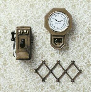 Dolls House Chrysnbon Wall Accessories Kit 1:12 Model kit CHR247