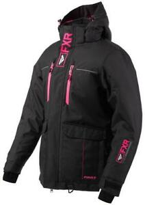 FXR WOMEN'S EXCURSION ICE PRO Black/Pink JACKET -SNOW Snowmobile -SIZE 10 or 14