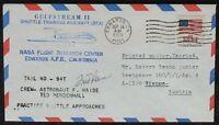 s1289) Raumfahrt Space Gulfstream II Crew Astronaut Fred Haise Autograph OU