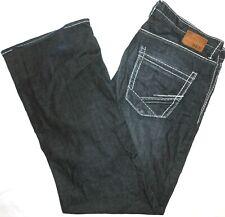 38R BKE Buckle STRETCH Tyler Relaxed Boot Cut Blue Jeans Men's Flex Denim 38x33