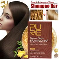 PURC Naturel Savon Shampoo Bar Pousse des cheveux Shampoing Solide