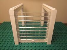 NEW Lego Garage Door Assembly with Clear Transparent Rollers