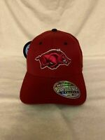 Arkansas Razorbacks NCAA Zephyr Red One Size Stretch Fit Hat Cap New