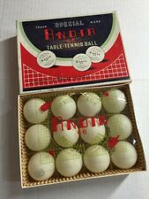 Vintage Andia Table Tennis Ping Pong Balls In Their Original Box NOS