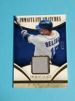 Carlos Beltran Jersey New York ets 2014 Panini Immaculate Swatches 52/99
