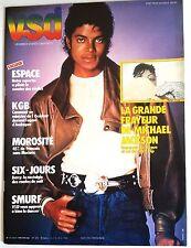 VSD n°335 du 23/02/1984; La grande frayeur de Michael Jakson/ Smurf/ KGB