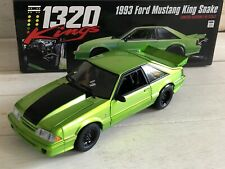 GMP 1993 FORD MUSTANG KING SNAKE NITRO GREEN 1:18