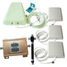 900 GSM /4G DCS1800MHZ Cell Phone Signal Booster Repeater  LTE Amplifier High Ga