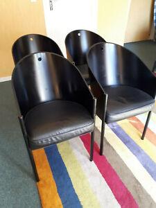 4 fauteuils Philippe STARCK modèle Costes de Driade