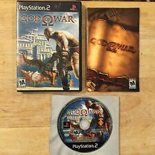 God of War 1 Black Label Sony PlayStation 2 PS2 System Complete Game