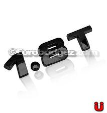 1- VW Volkswagen Jetta Passat GTI Golf GLI Black Emblem Badge 19mm 1.8T BLACK