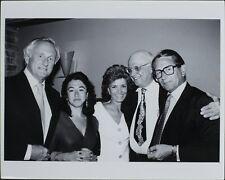 George Christy, Tarquin Olivier, Samuel Goldwyn Jr. ORIGINAL PHOTO HOLLYWOOD