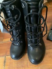 GBG Guess Combat Boots - Women's Size 6 Black