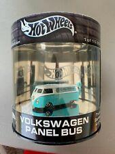 2003 Hot Wheels Truck Series 4 of 4 Volkswagen Panel Bus Teal - White 1/15000 BS