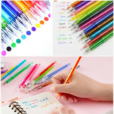 2Pcs Fashion Creative Stationery Candy Crystal Gel Pen-0.5mm Student Stationery