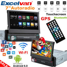 "Android 6 1 Din 7"" Touchscreen GPS Navigation Autoradio FHD Media Player WIFI BT"