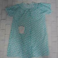 Vintage Artistic Fantasy Cotton Nightgown Size L