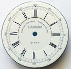 EXCELLENT ANTIQUE DIAL FOR ENGLISH CENTER SECOND POCKET WATCH CHRONOGRAPH