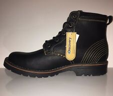 NEW Discovery Expedition Men's Kenai Leather Ankle Boot Traction Sole Sz 10.5