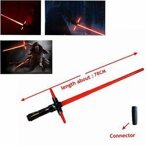 Star Wars Kylo Ren Lightsaber LED Light Sound Sword Toy Laser Darth Vader Sword