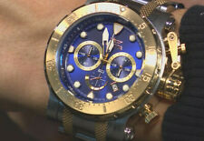 Invicta Mens Chronograph SS 18kt Coalition Forces Sapphire Blue- Gold two tone