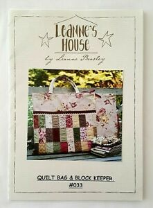 Quilting Patterns Pack of 4 - 3 different quilts plus a quilted bag - All new