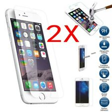 2 Pcs Real HD Screen Protectors Tempered Glass Film For Apple iPhone 5/5S/5C/SE