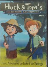 Huck & Tom's Mississippi Adventure (DVD) Animated Slim Case