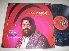 Premanjali Hindi devotional canzoni HARI OM SHARAN * ORIGINALE INDIA EMI LP 1977 *