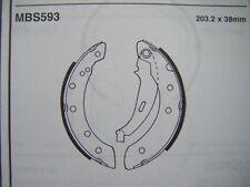 Renault Laguna 1.6/1.8/2.0 rear brake shoes (mbs593) (94 - 01)