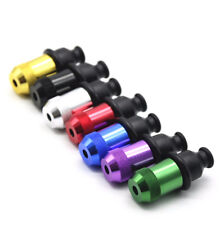 1Pc Metal Rubber Nipple Snuff Design Sniffer Mini Smoking Nose Pipe Random Color