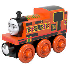 Thomas And Friends Wood Nia Train Set NEW