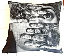 Fornasetti Original T&V Pillow Cushion Abbaglio