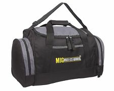 430fd8a64b Mens Sports   Gym Holdall Travel Bag - SPORTS TRAVEL SCHOOL CABIN - BLACK  07M