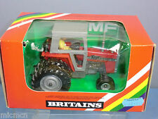 "VINTAGE BRITAINS MODEL No.9529  MASSEY FERGUSON 595 TRACTOR ""TWIN WHEEL""   MIB"
