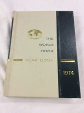 World Book Encyclopedia 1974 Yearbook - Review of Events in 1973 Birthday Gift