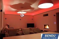 LED Stuckleisten indirekte Beleuchtung Decke Lichtvoutenprofil Hartschaum BENDU