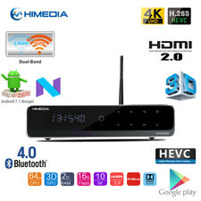 HiMedia Q10 PRO Quad Core 4K 3D HDR Android TV Box Media Player HDMI BT WiFi PC
