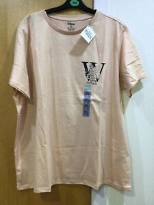Disney Primark Winnie The Pooh 2XL Blush T Shirt New With Tags 100%Cotton