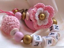 Maniquí De Crochet De Madera Personalizado Clip/Cadena/Correa y Bebé Regalo