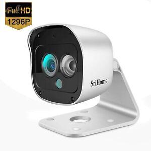 Wifi IP Caméra de surveillance sans fil sécurité extérieur 1296P vison nuit IP66