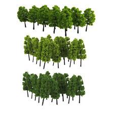 ho z sacle vert arbre modèle 40 pièce pour le train chemin de fer parc de