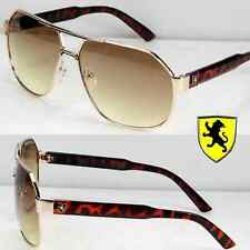 922214640ede Khan Eyewear Mens Womens Designer Fashion Pilot Sunglasses Shades Tortoise  Camo