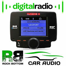 AutoDAB GO Plug n Play In-car DAB Receiver with integrated Display & Bluetooth