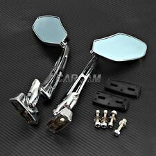 MOTORCYCLE CHROME REARVIEW MIRRORS FOR HONDA CBR 250 500 600 1000 RR RC51 F3 F4i