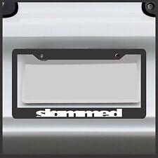 Slammed -  License Plate Frame - JDM VIP Stance flush euro import drift sticker