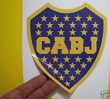 "BEST PRICE!!! LOT OF 10 SOCCER DECAL / STICKER BOCA JUNIORS ARGENTINA 6"" X 5"""